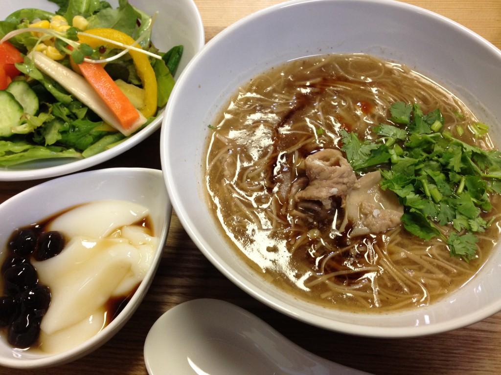 麺線ランチ@カフェ