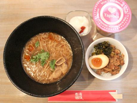 台湾麺線ドリンクセット